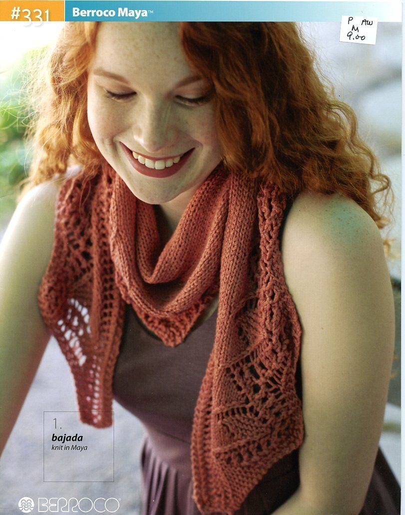 Berroco Maya Knitting Pattern Book #331 - 6 Designs for Women | eBay ...