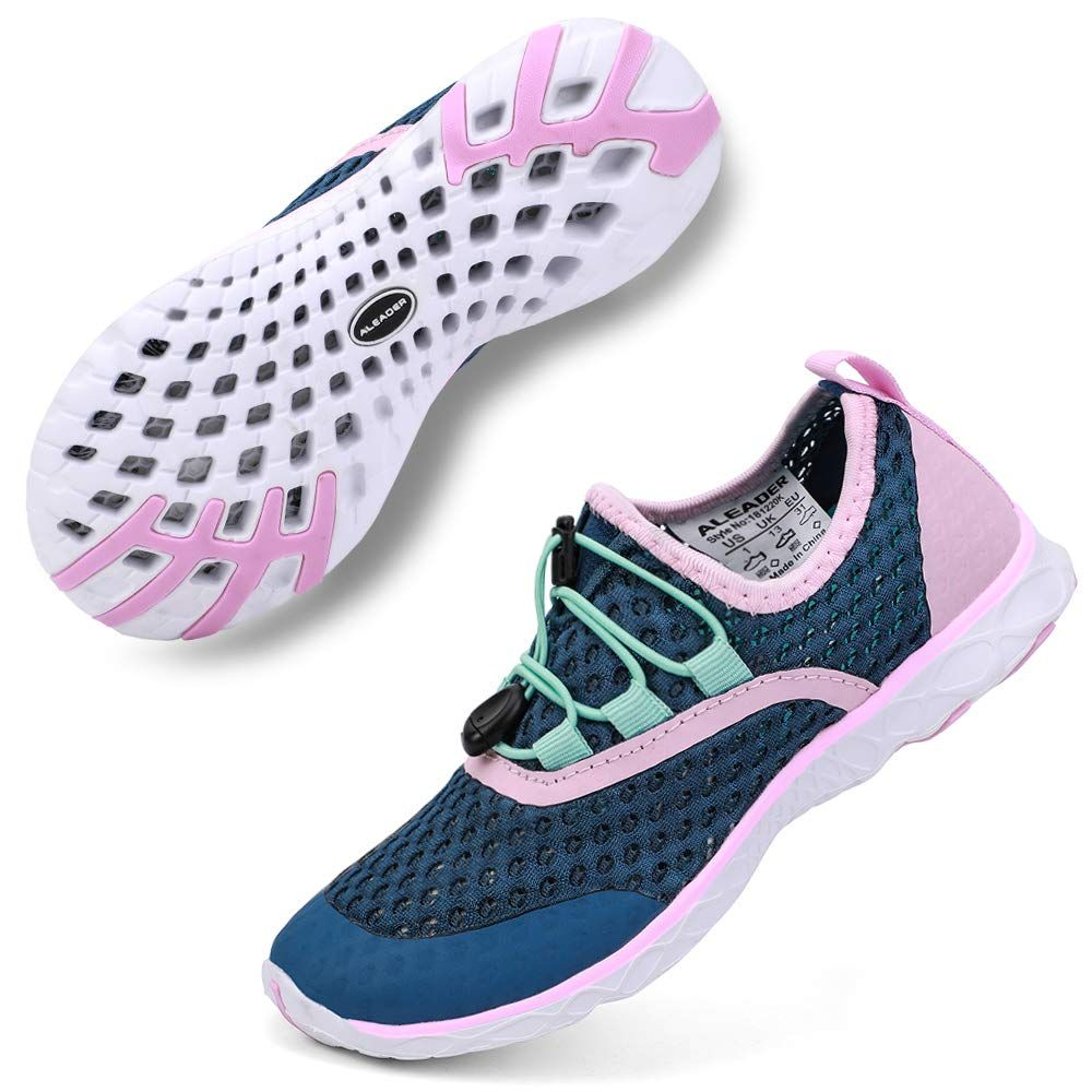 Aleader Kids Aqua Water Shoes Walk Run Beach Water Camp Want Additional Info Click On The Image T Running Sport Shoes Water Shoes Women Sport Shoes
