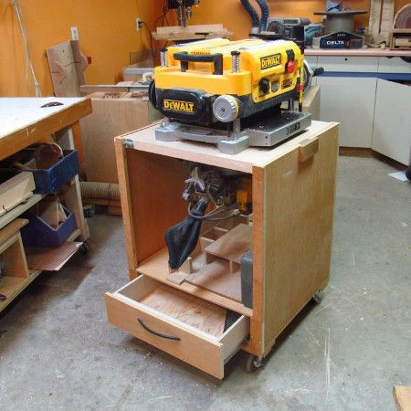Fliptop Planer Stand Plans | planer in 2019 | Tool stand
