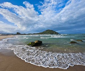 Praia Ferrugem Santa Catarina Praias Garopaba