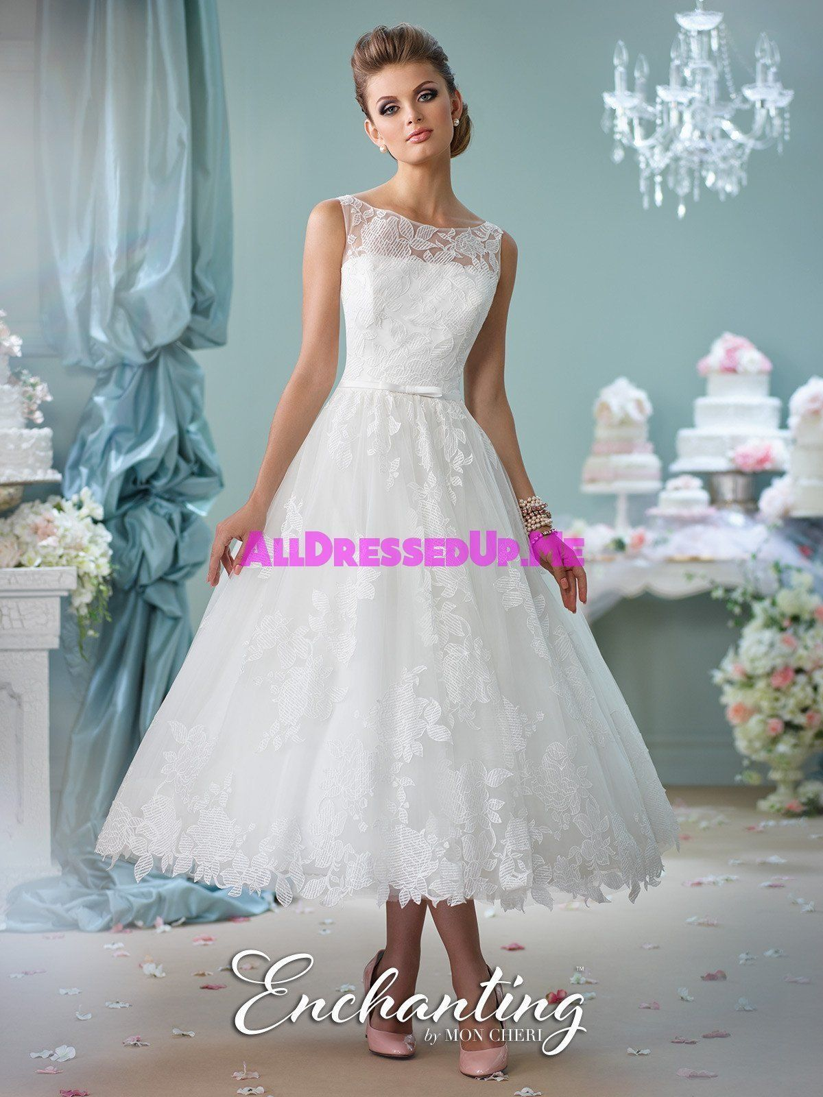 Enchanting - 116136 - All Dressed Up, Bridal Gown