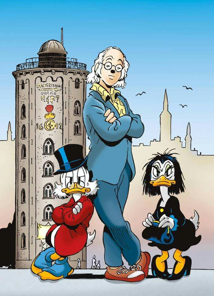 Scrooge McDuck, Don Rosa and Magica de Spell by Marco Rota | Disney ...