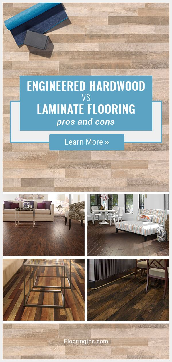 engineered hardwood vs laminate flooring what's the