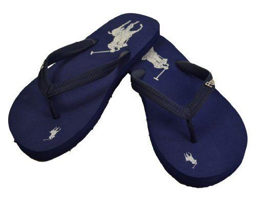 Big Pony Flip Flops Sandals NavyItem