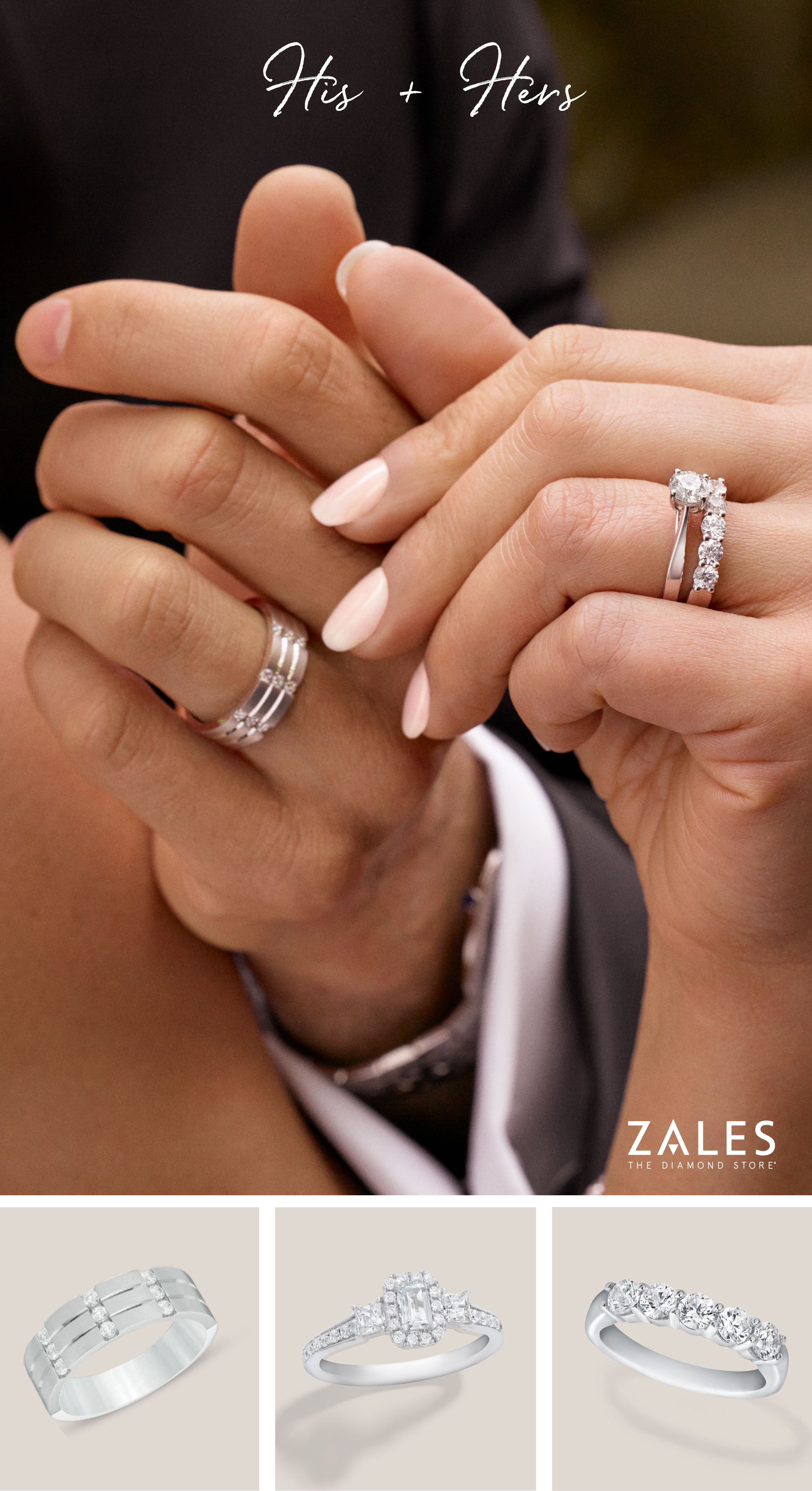 His & Hers. Shop now to find the perfect bridal rings.