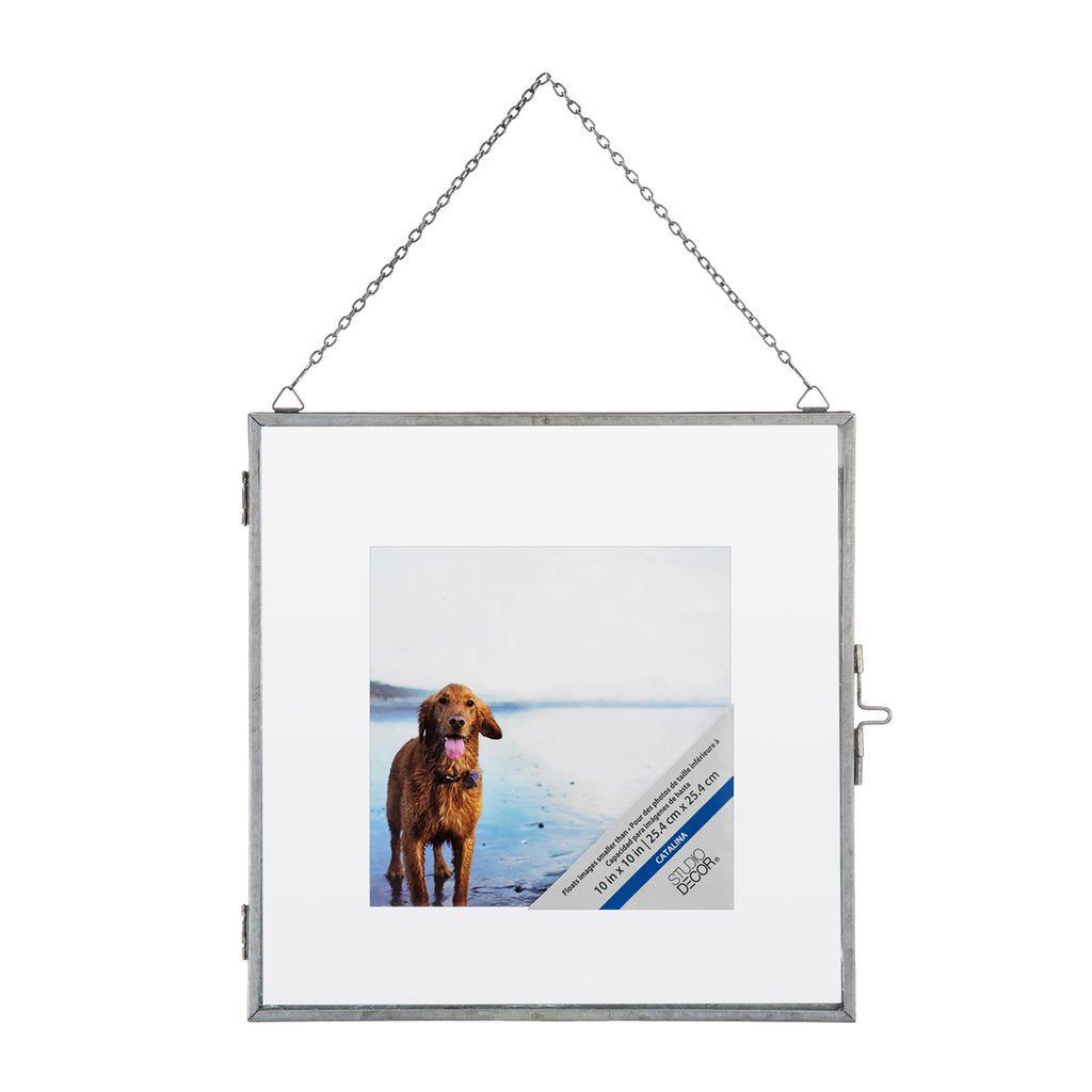 Silver 10 X 10 Float Frame By Studio Decor Studio Decor Floating Frame Frame