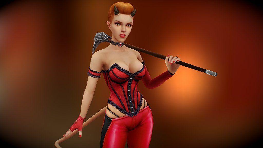 Model base on my character illustration Stills, wire and texture https://www.artstation.com/artwork/41ARL