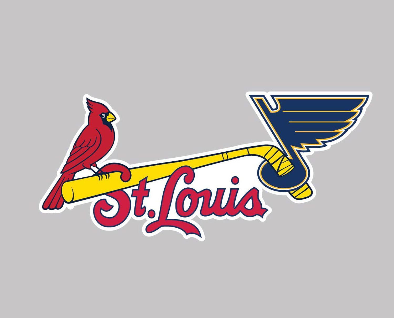 St. Louis Combined Sport Teams Mash Up Combo Car Vinyl