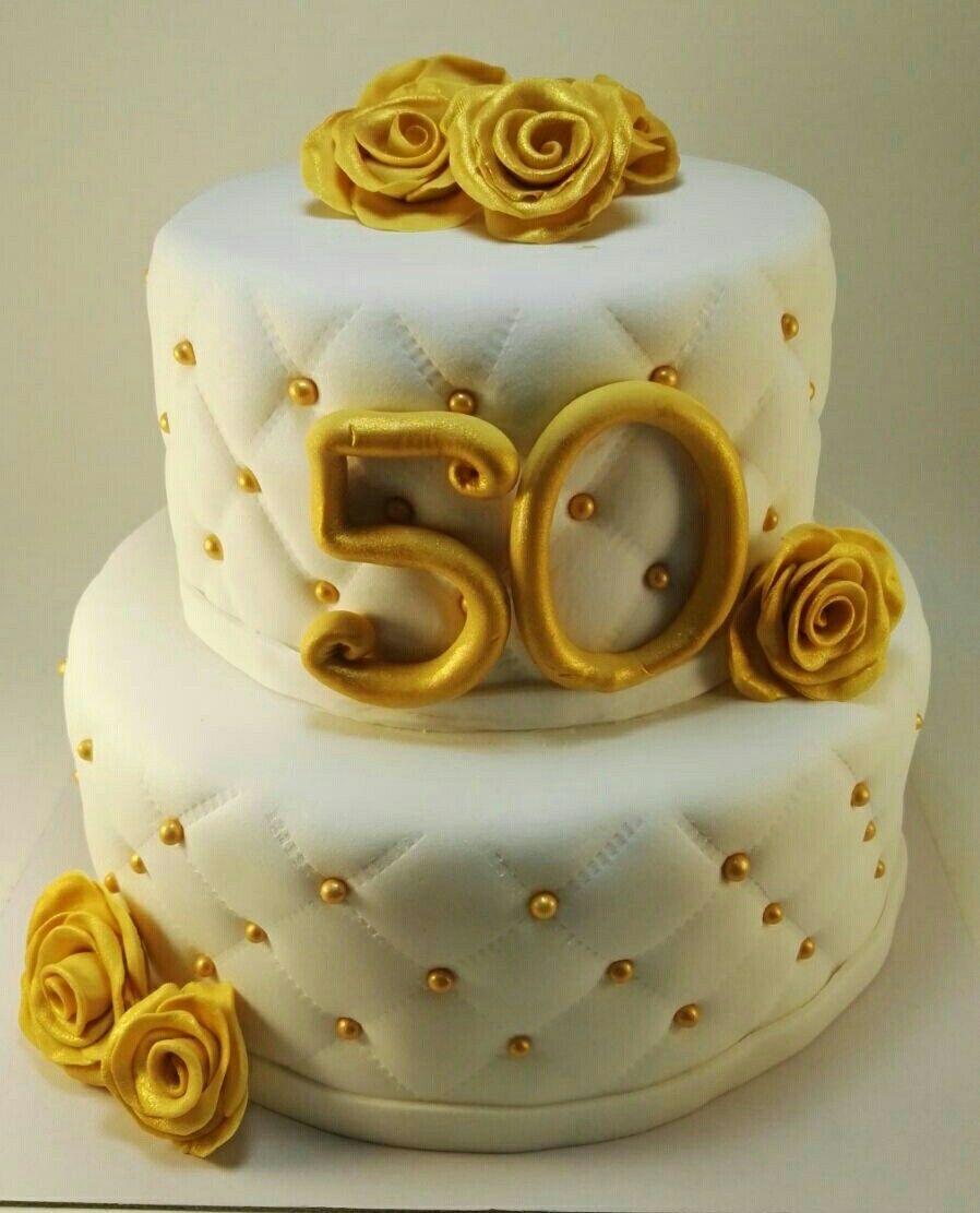 Espectacular Tarta Para Celebrar Los 50 Anos De Casados