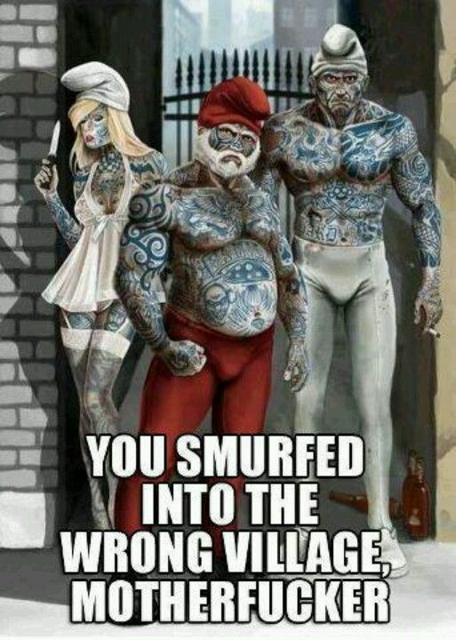 Smurf Gang Cool Stuff Pinterest Funny Memes And Humour