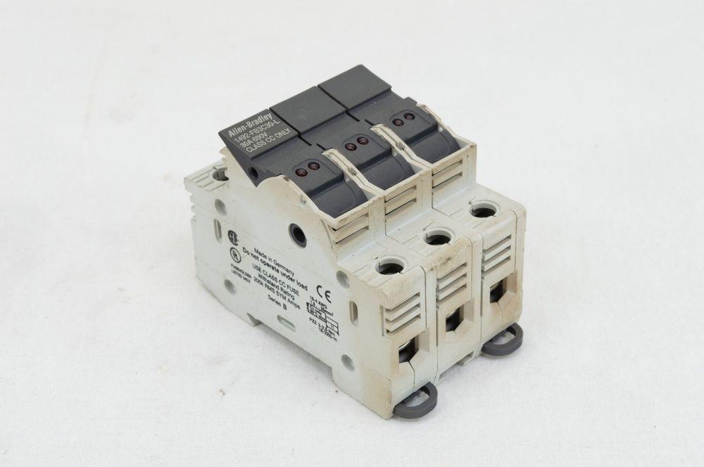 Allenbradley ab 1492fb3c30l fuse holder 600 volt 30 amp