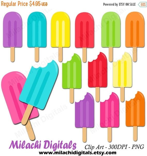 Popsicle Clipart Ice Pop Clipart Vector Graphics Ice Cream
