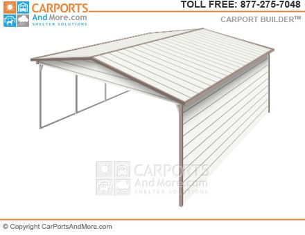 Metal Carport And Garage Kit Builder Metal Carports Portable Carport Carport