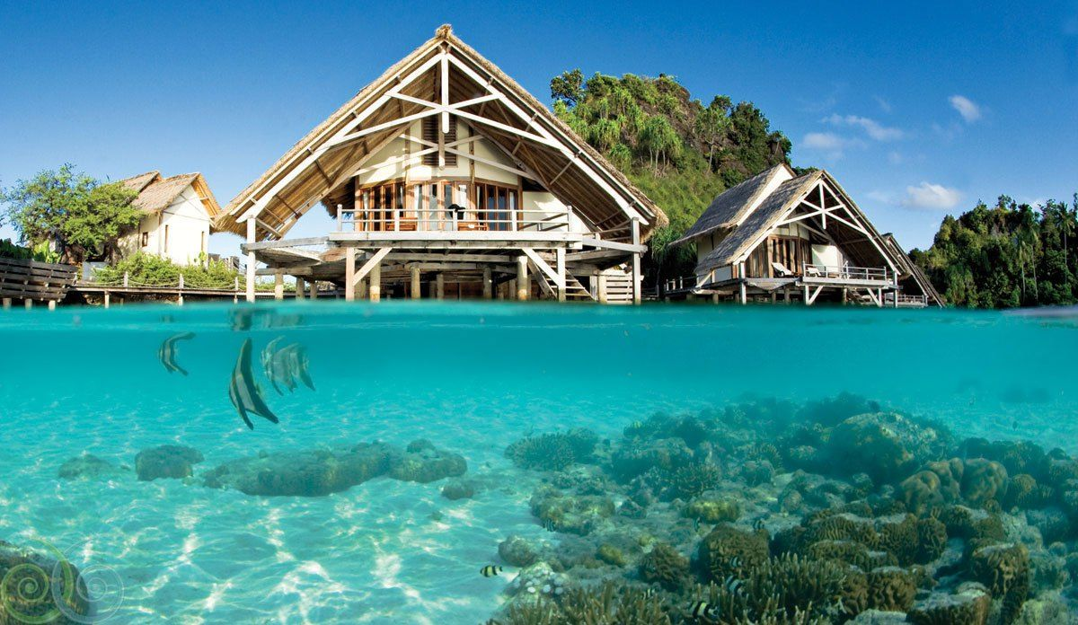 3 Incredible Places To Visit In Indonesia That Are Not Bali Overwater Bungalows Eco Hotel Dive Resort