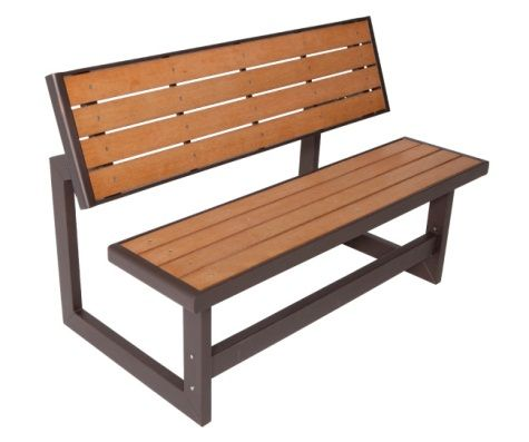Lifetime Faux Wood Convertible Bench 60054 Lifetime