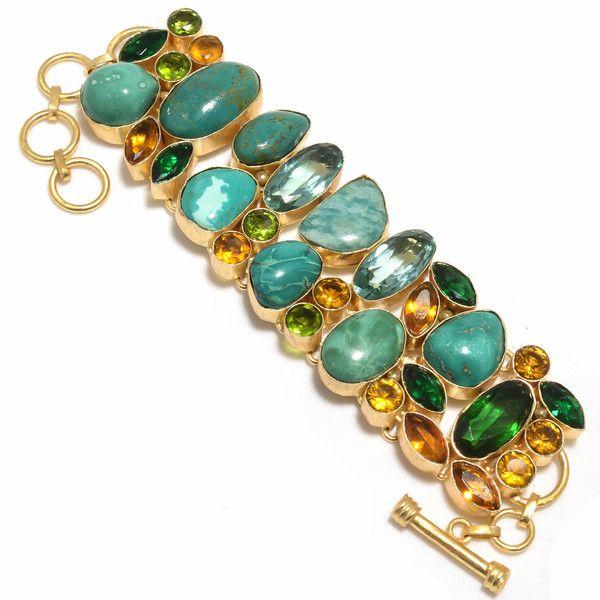 Turquoise And Pearl Bracelet Designer Bracelet Pearl bracelet