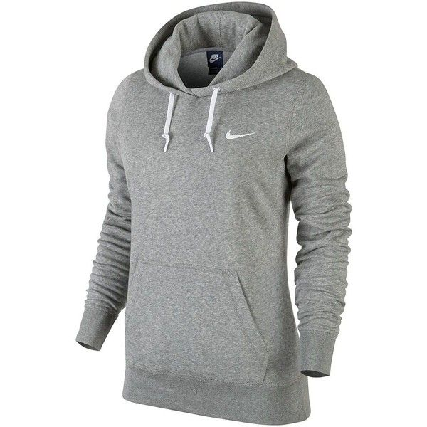 bb922acc90e9 Nike Club Fleece Hoodie - Women s ( 34) ❤ liked on Polyvore featuring tops