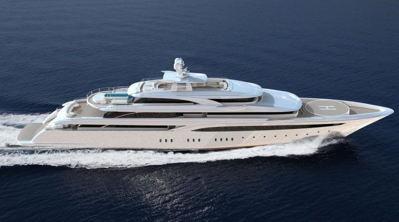85m superyacht O'Ptasia is 80 completed The Marine News