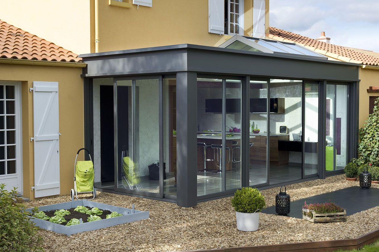 #veranda #conceptalu gamme #EXTANXIA - #cuisine #jardin # ...
