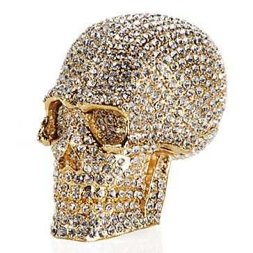 Crystal Skull Trinket Box Jewelry Boxes Accessories