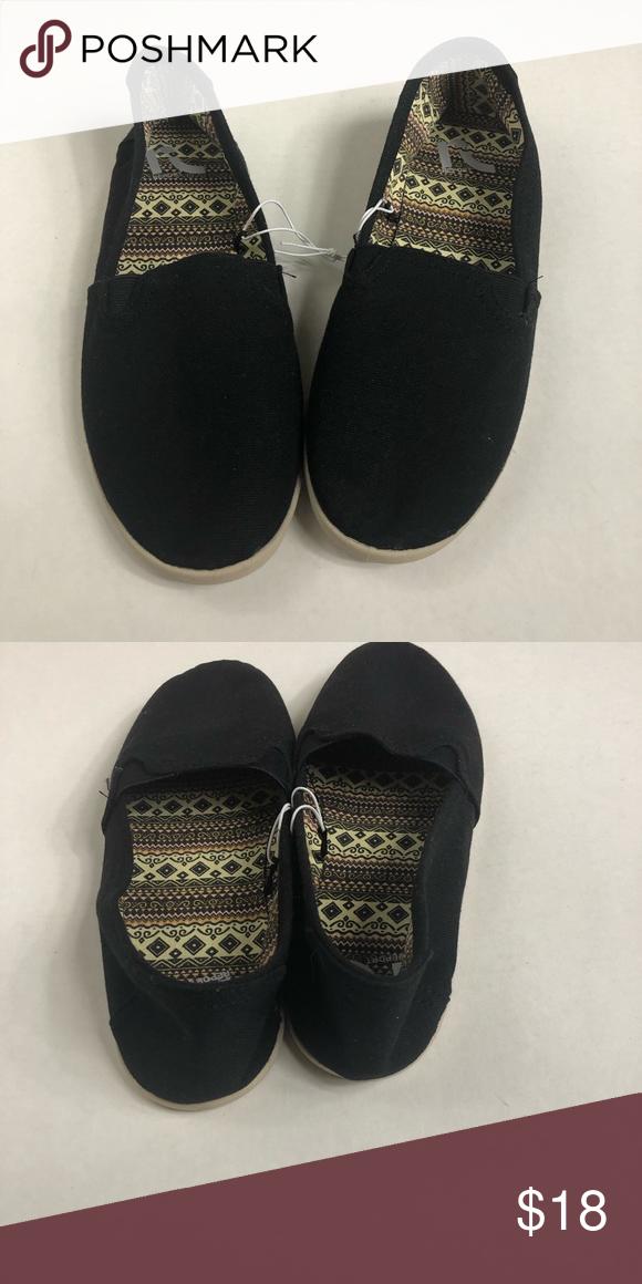 Black Report Slip On Shoes | Slip on