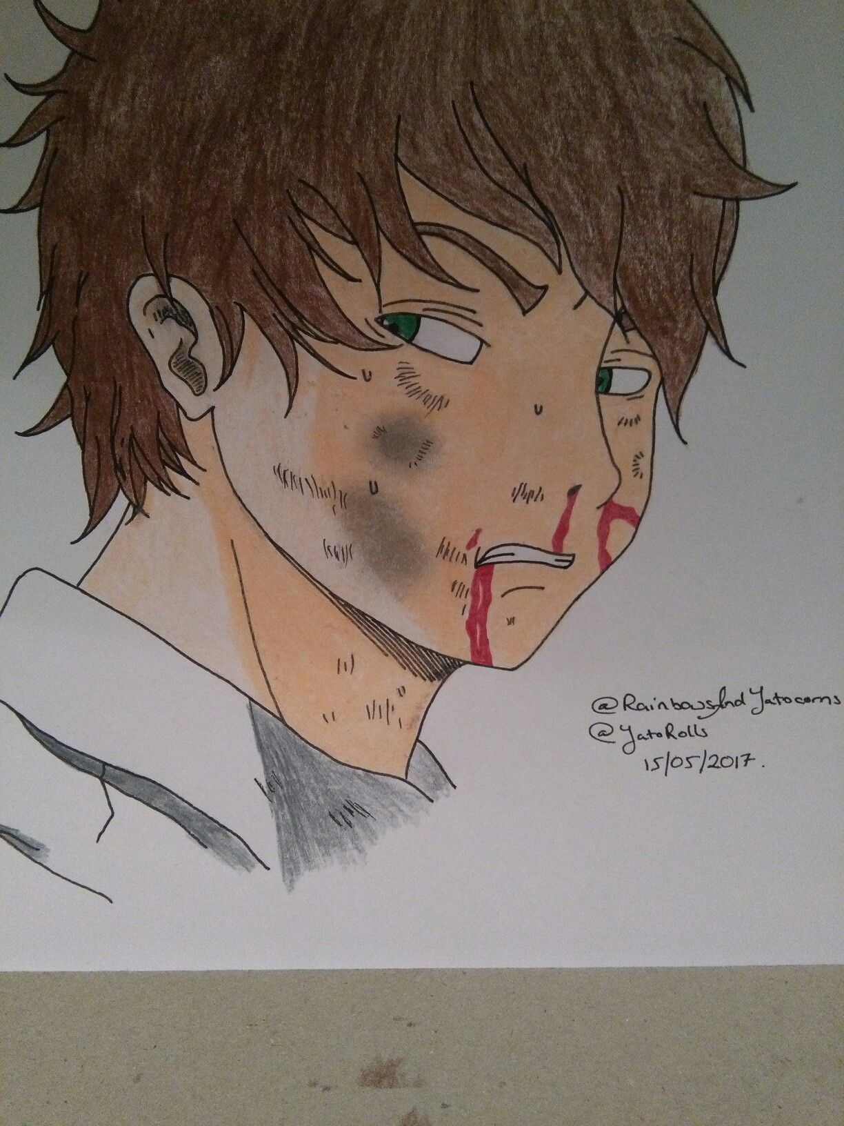 Finally finished college so the drawings are flowing again yay! Go follow my deviant art account @RainbowsAndYatocorns