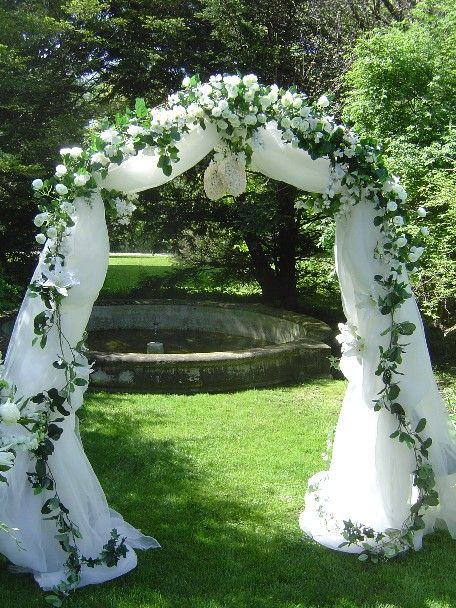 Wedding Arch White And Royal Blue Tool Glitter I Lo E This