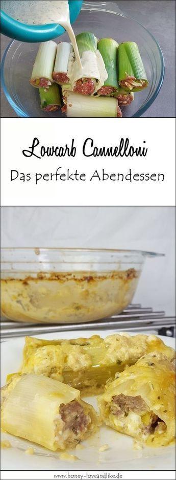 Das war lecker! Lowcarb Cannelloni aus Lauch mit Hackfleisch Füllung