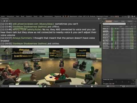 Second Life: Third Party Viewer meeting (17 June 2016) Note