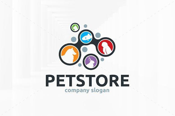 Pet Store Logo Template Logo Templates Branding Template Templates