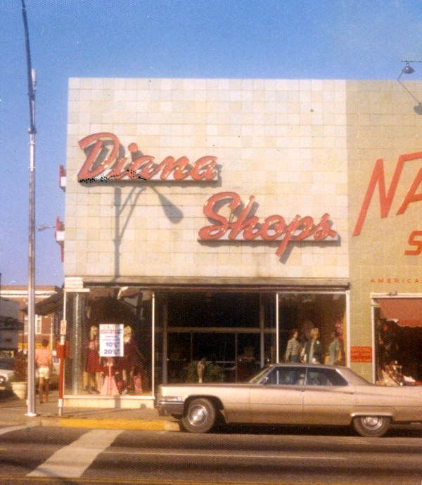 View Of Diana Shops Store On The West Side Of Monroe St At The