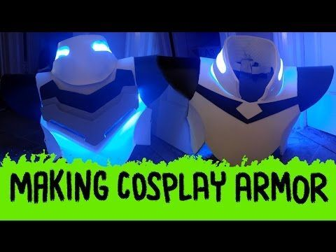 How To Make Cosplay Armor (Shiro from Voltron Legendary