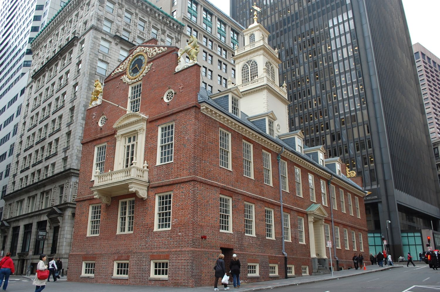 BOSTON — Explore the building which served as the center