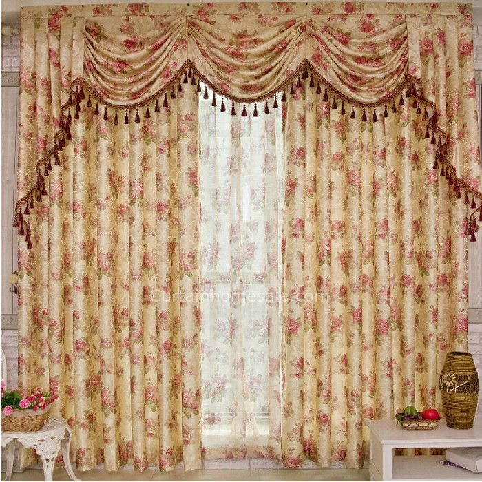 Country Luxury Curtains Online For Bedroom Valance Is Not Included