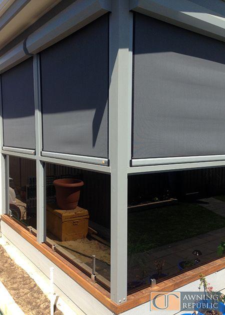 Ziptrak Blinds Serpentine Awning Republic Perth Outdoor Blinds Ziptrak Blinds Vertical Window Blinds