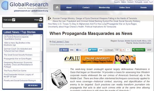 "Пропаганда као ""новинарство"" - http://www.vaseljenska.com/svet/propaganda-kao-novinarstvo/"