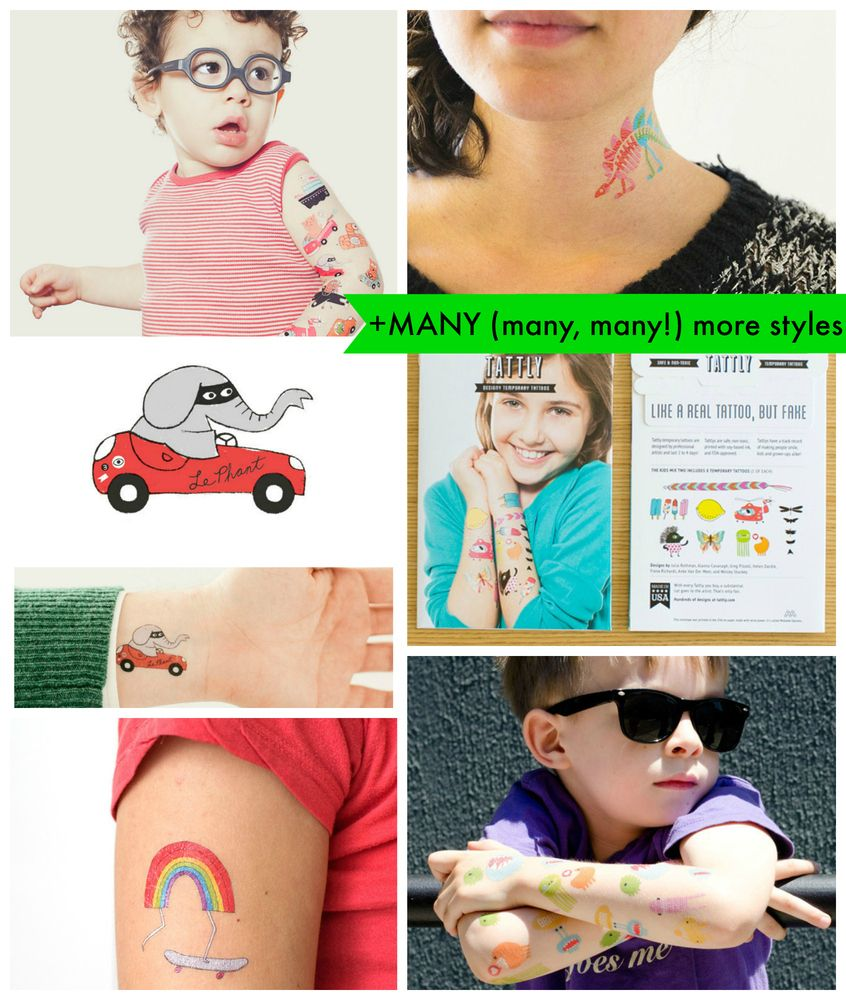 We'll start with baby steps...love these! Tattly