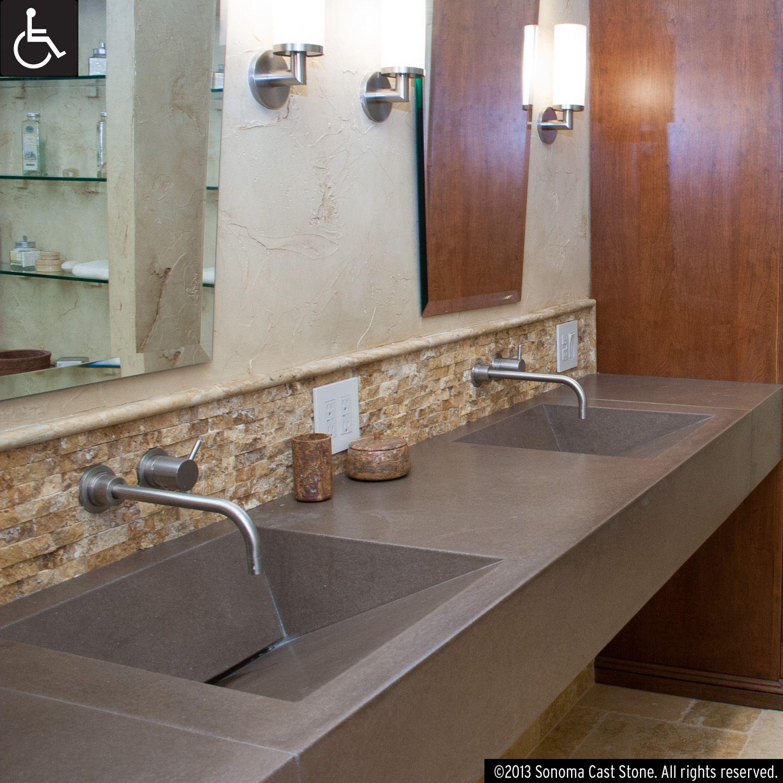 Our Most Versatile Design Ramp Sinks Slope To Order Front Back