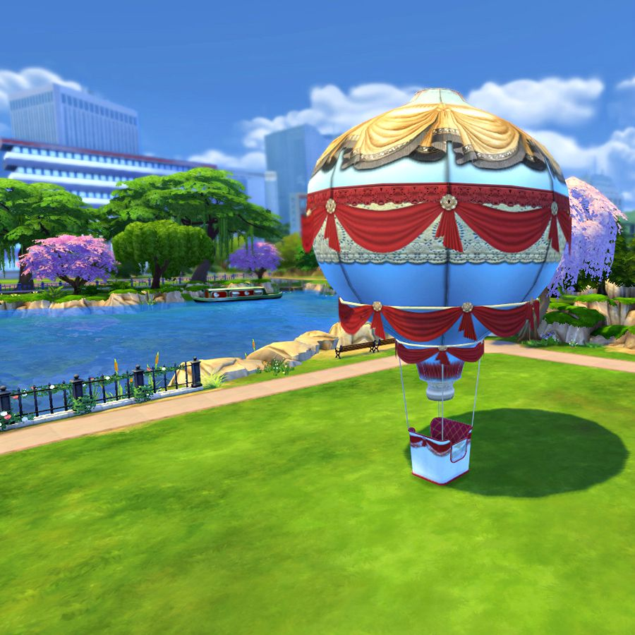Hot Air Balloons New Симс 4, Воздушные