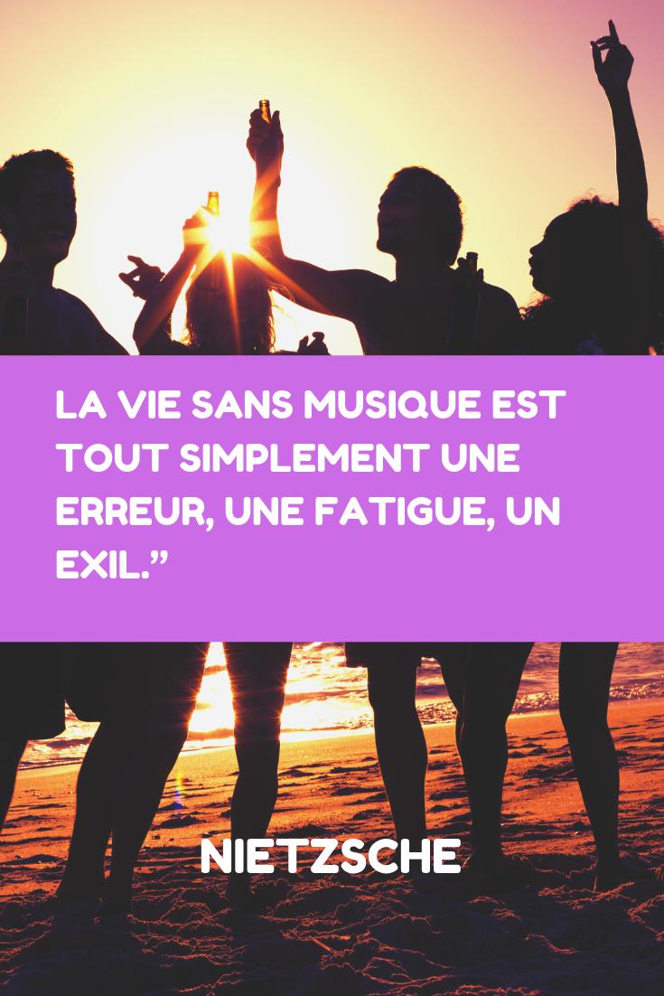 Citation Nietzsche Musique : Citation friedrich nietzsche musique la vie sans musique est tout