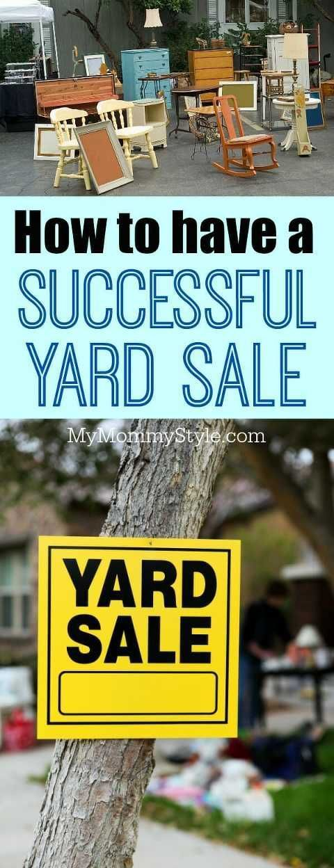 15 tips for how to have a successful yard sale#sale #successful #tips #yard