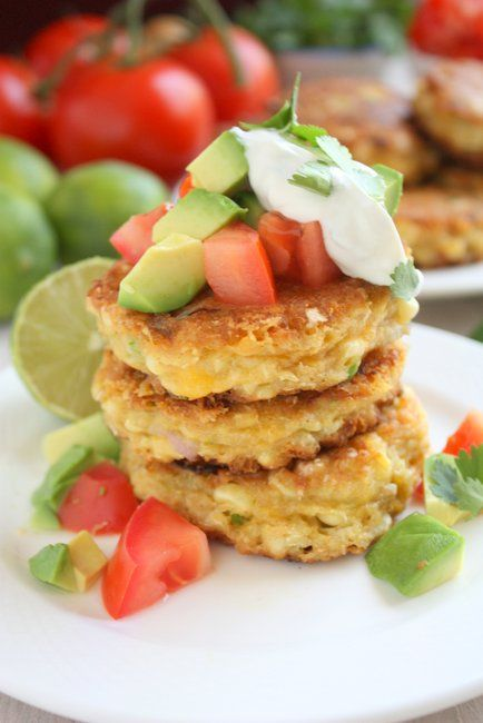 Jalapeño Corn Cakes  What would you pair this with?  My first thought is something sweet to meet up with the spice.  Perhaps a Pinot Grigio...