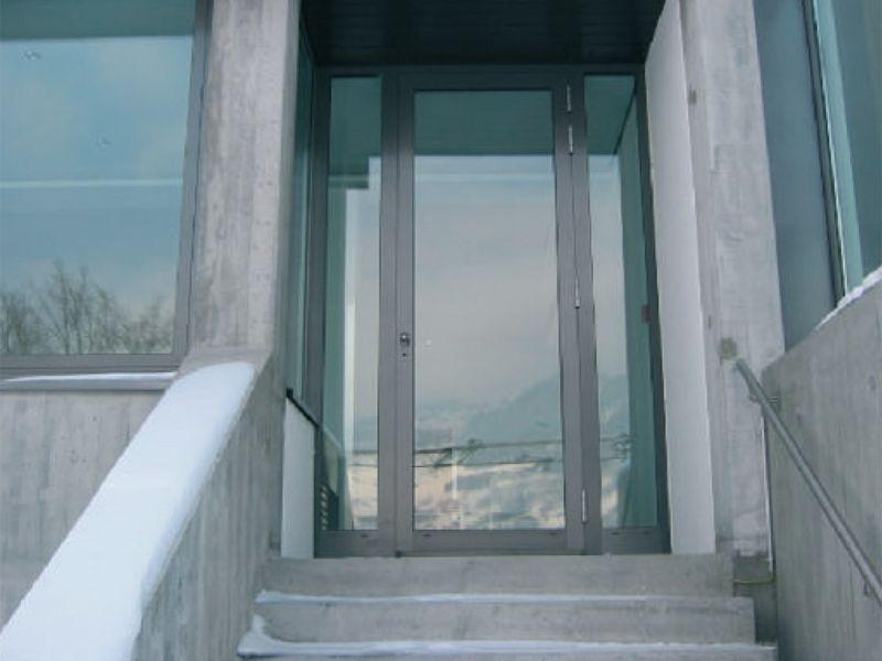 Eingangstür Alu Glas u2022 House u2022 Pinterest Eingangstür - design turen glas holz moderne