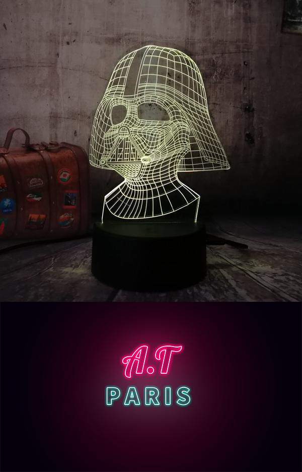Lampes WarsN Spécialement Conçue Fans Star Pour De Nos 3d Les v0mO8nyNw