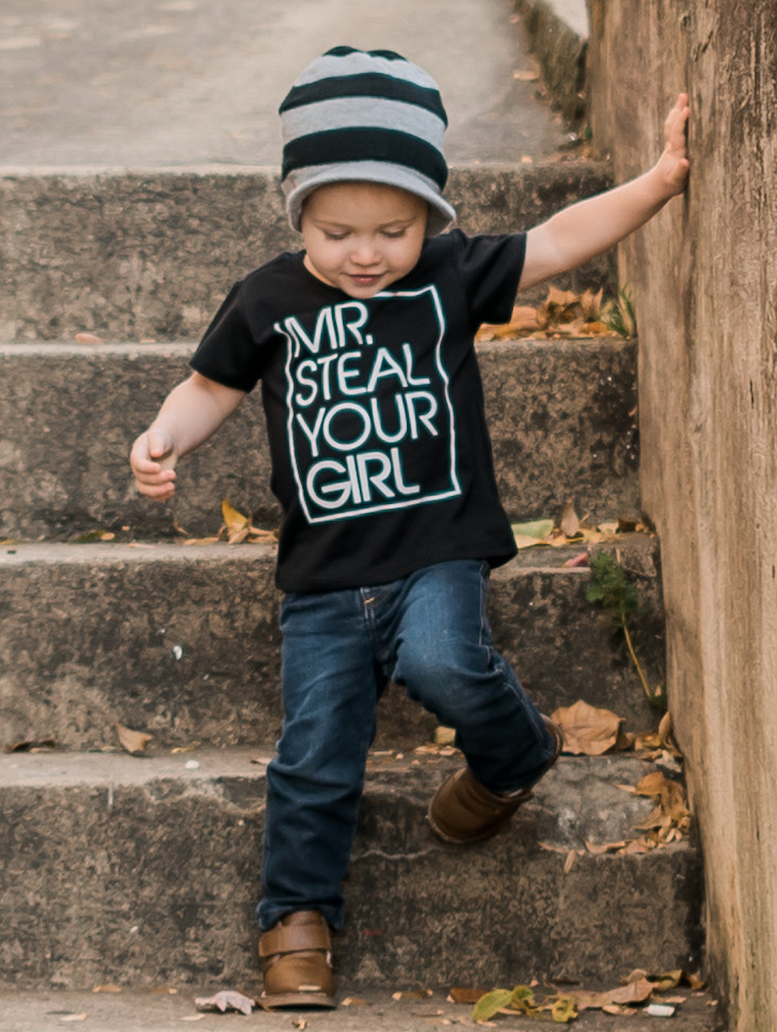 Mr Steal Your Girl Toddler Short Sleeve Tee
