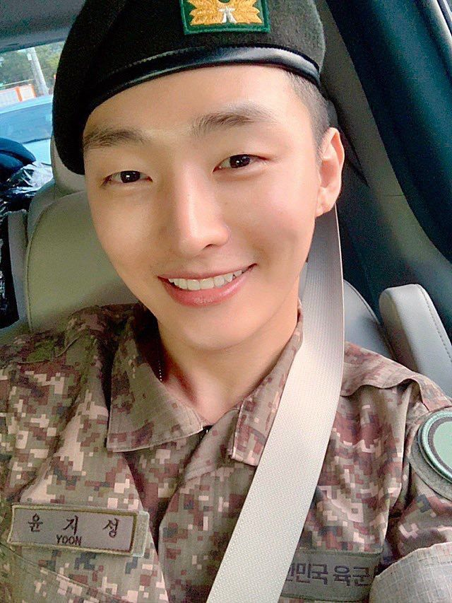 Image result for yoon jisung military