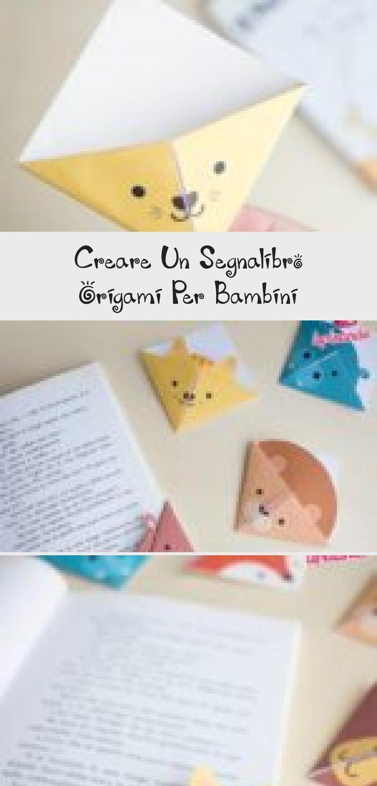 Photo of Creare un segnalibro origami per bambini | DIY origami bookmarks for children…