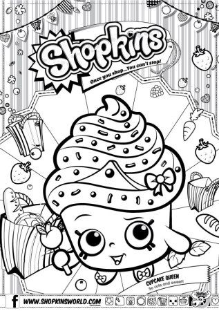 Made by A Princess Shopkins Coloring