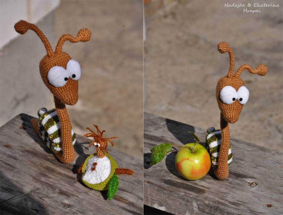 Elvis snail and worm Hooch