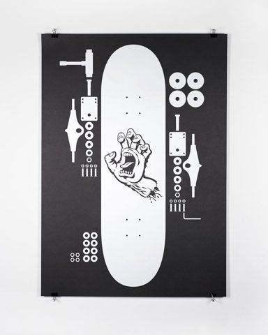Pin By Brian Mc Laughlin On Cutaway Deconstructed And Exploded Graphic Design Posters Poster Design Skateboard Design